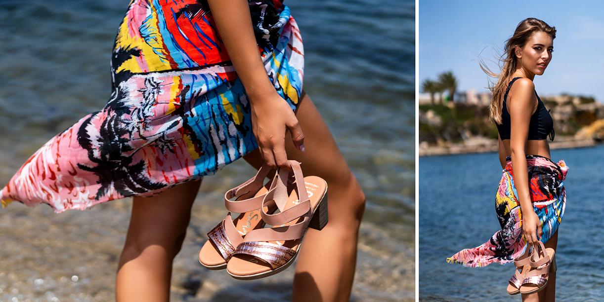 Sandalias de verano 2020 por Carmen Calzados